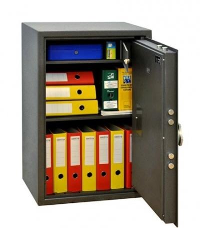 SafeTronics TSS 90 ME kulcs+elektronikus Tűzálló Páncélszekrény