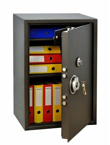 SafeTronics TSS 90 MLaGard kulcs+mechanikus Tűzálló Páncélszekrény