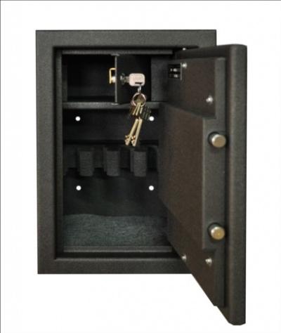 SafeTronics MINI 4 M  kulcsos Pisztolytároló Széf