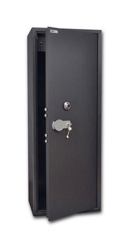 SafeTronics TSS 160 M LaGard K3 kulcs+mechanikus Tűzálló Fegyverszekrény
