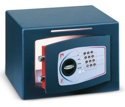 Technomax DTR 6 elektronikus Bedobós Bútorszéf Időzárral