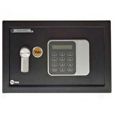 Yale - Guest Home YSG 250 fekete - széf elektronikus zárral és LCD kijelzővel